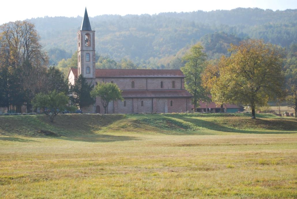 I monumenti della valle: laBadia di Tiglieto