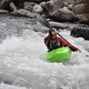 Outdoor: canoa sul fiume